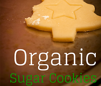 Organic Christmas Sugar Cookies