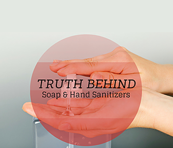 Uncovering the Truth: Soap and Hand Sanitizers Do Not Kill Bacteria and Germs