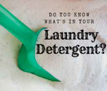 Are There Dangers Lurking in Your All-Natural Laundry Soap?